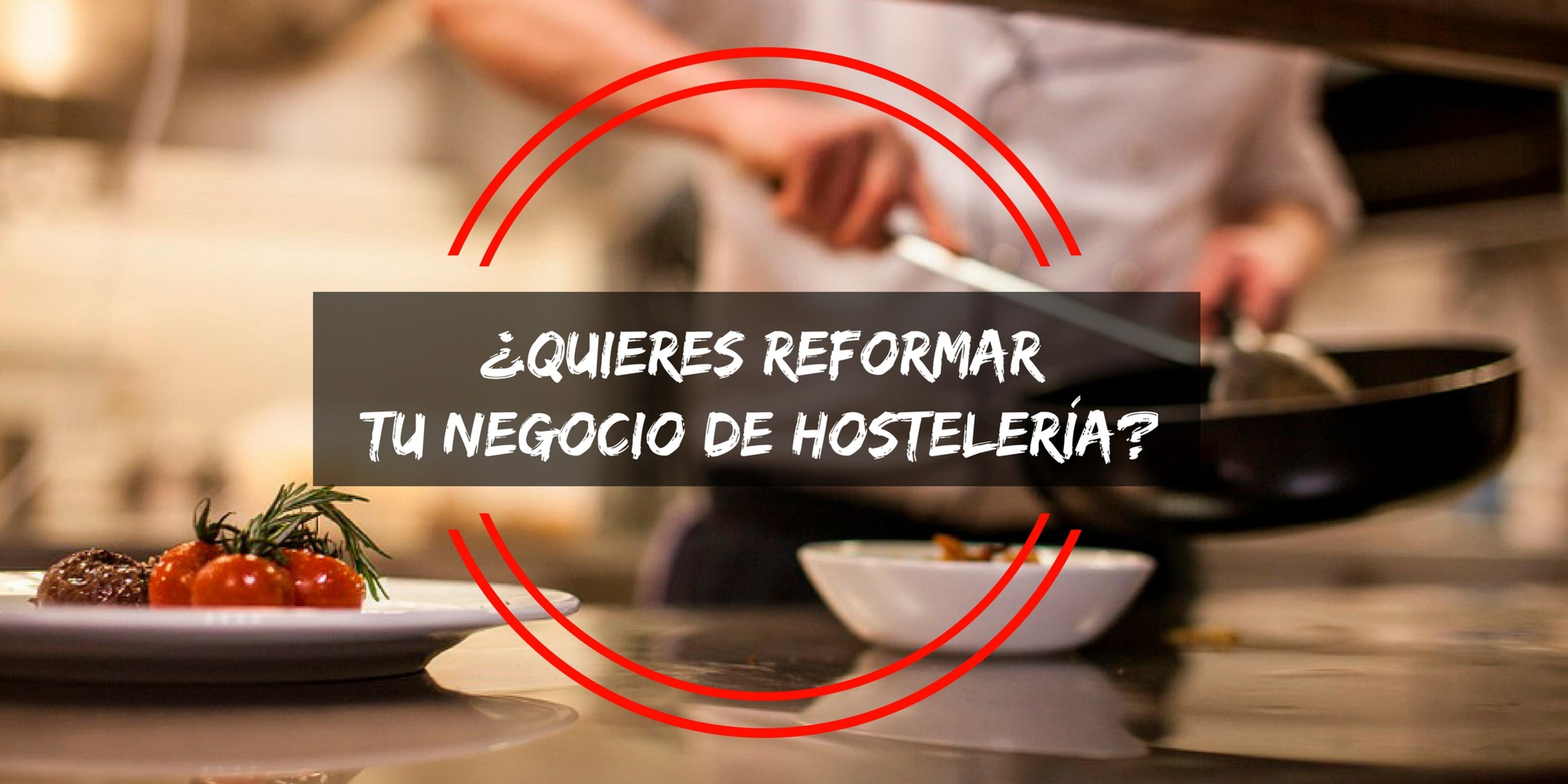 Si quieres reformar tu negocio de hostelería: Codama Distribuciones.