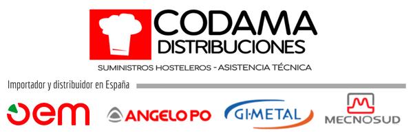 Codama es Importador y Distribuidor en exclusiva para España de OEM y distribuidor de Angelo Po, Gi.Metal y Mecnosud