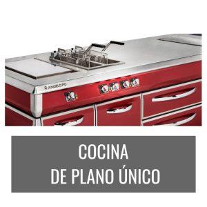 Cocina de plano único Angelo Po Codama Distribuciones