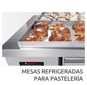 Mesas refrigeradoras para pastelería Angelo Po Codama