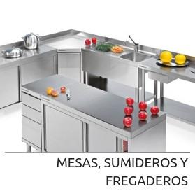 Mesas, sumideros y fregaderos de Angelo Po en Codama Distribuciones