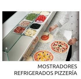 Mostradores refrigerados para pizzería Angelo Po Codama
