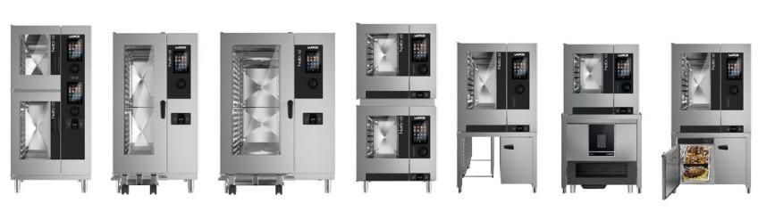 Modelos de los hornos Naboo de Lainox en Codama Distribuciones