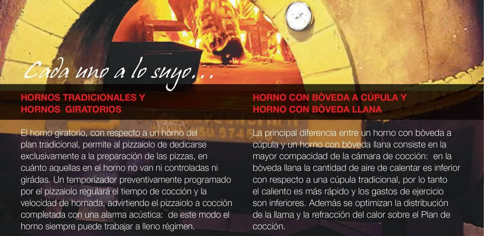Hornos Pavesi tradicionales y hornos giratorios Codama en España