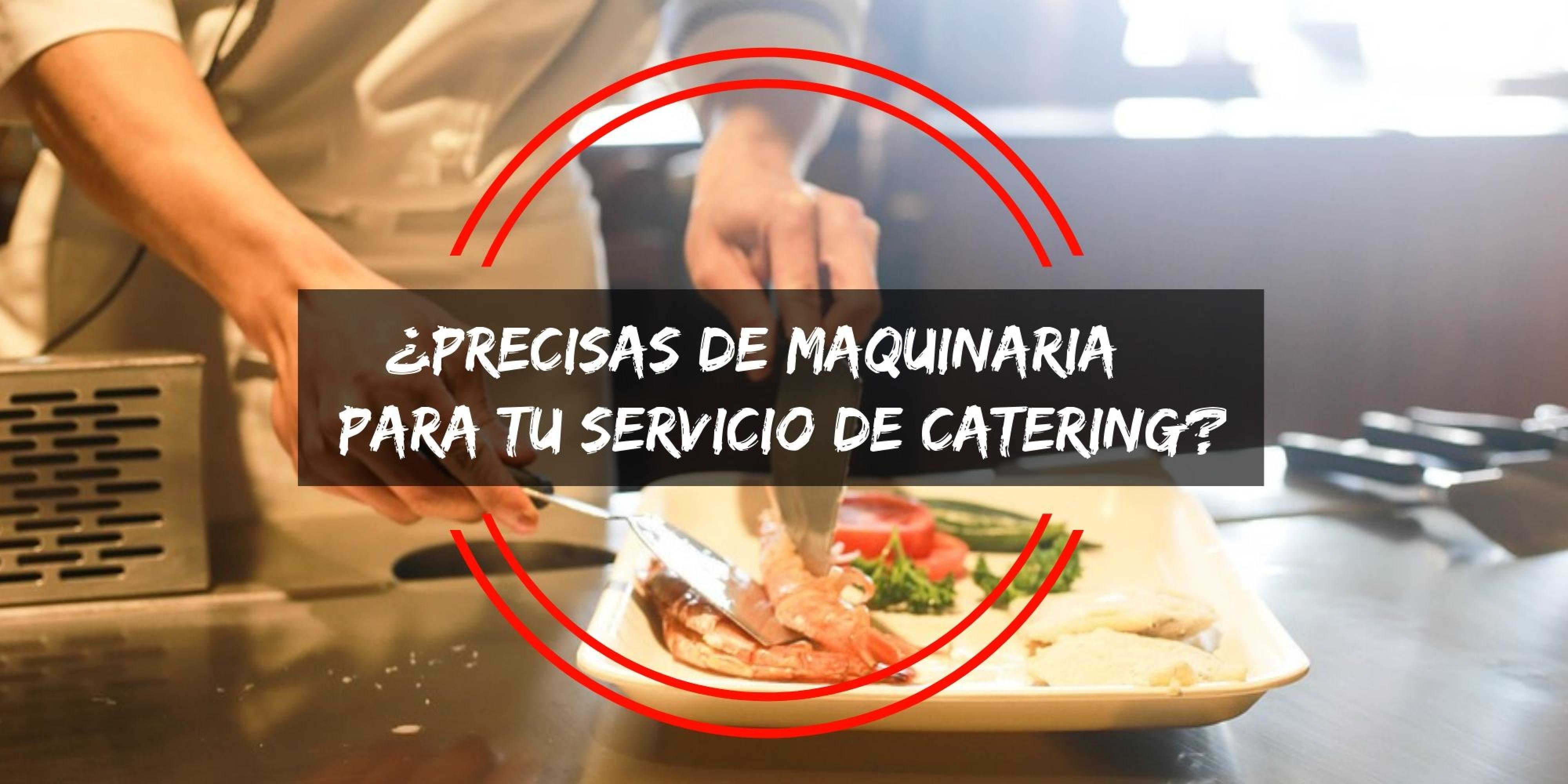 Menaje y moviliario para catering Codama Distribuciones