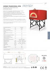 FICHA TECNICA PAVESI RPM 140/160 GAS CODAMA